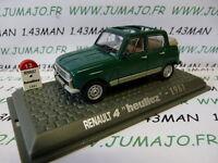 4L5F Macchina 1/43 UNIVERSAL HOBBY Renault R 4 LHeuliez scoperta 1981 verde