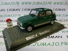 Coche 1/43 UNIVERSAL HOBBIES Renault R 4 El : Heuliez parte 1981 verde
