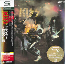 KISS Alive!  * SEALED JAPAN carboard 2x SHM-CD UICY-93653