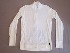 G STAR MENS WHITE SLIM FIT HOWARD RAGLAN CARDIGAN ZIP L/S JACKET SIZE XL RARE
