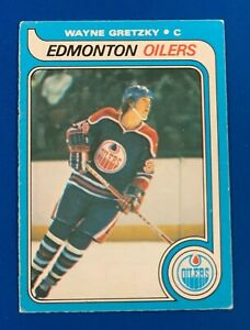 1979-80 O-Pee-Chee # 18 WAYNE GRETZKY Rookie RC * Ungraded * EX+ 5-6 ??