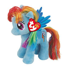 "Rainbow Dash Beanie Peluche Giocattolo morbido, 7"" Pony My Little (18cm)"