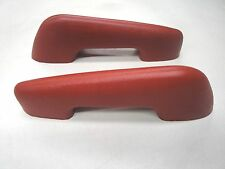 1959 59  FORD CAR FRONT OR REAR  DOOR ARM REST  RIGHT LEFT RED NEW