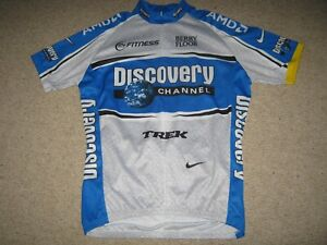 Discovery Channel Trek Nike cycling jersey [L] NOS