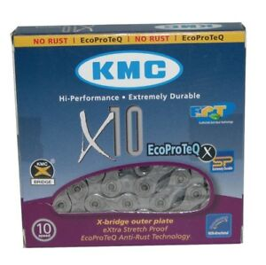 KMC X10 Ecoproteq (Anti-rust) 10-fach Chain 114 Links