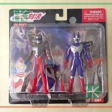 "Ultraman VS 4"" Action Figures- Ultraman Zero vs Raymon, Hero & Dinosaur,Bandai"