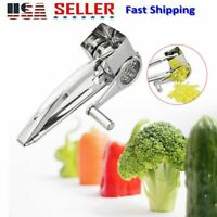 Cheese Stainless Steel Grater Hand Crank Rotary Blades Grater Kitchen Tools PP