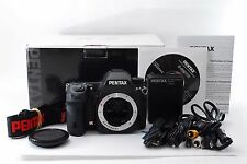 PENTAX K5 K-5 16.3 MP Digital SLR Camera Black Body w/ Box [**Near Mint**] Japan