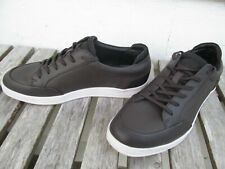 Calvin Klein Baldwin 34FO674 Saffiano Leather Sneaker Men's US Size 7.5M