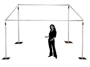 1.8-3m high / wide - telescopic photobooth background stand kit support stand