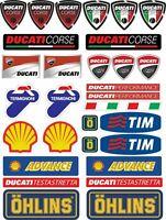 FE DUCATI CORSE Stickers Aufkleber Panigale Multistrada Monster 848 1199  /959