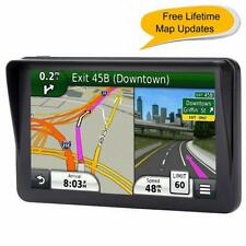 Car GPS, 7 inches Navigation System for Cars Lifetime Map Updates Touch Screen R