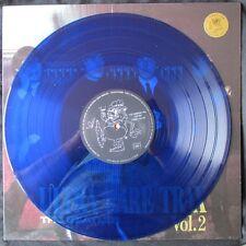 THE BEATLES 100% ITALIAN EARTHQUAKE BENEFIT LP - Ultra rare Trax Vol.2 BLUE WAX