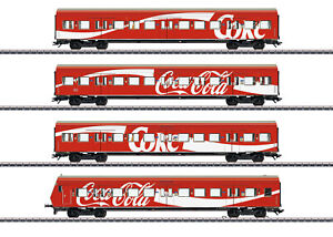 "Märklin H0 43890 S-Bahn-Wagenset ""Coca Cola"" der DB AG ""Neuheit 2020"" NEU + OVP"