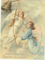 """*Easter Postcard-""""Wishing You Every Easter Blessing"""" (N6)"""