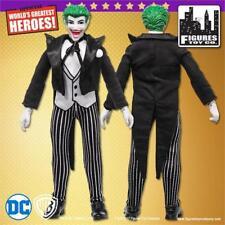 "DC Comics Joker Retro Mego 8""  figure Black Suit! Mint on Card Batman Villain"