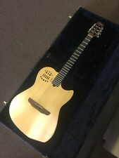 Godin Multiac Steel String Guitar Natural Synth Access & Case NICE!