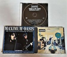 OASIS - 3 CD LOT: MAXIMUM OASIS THE FULL STORY-DEFINITELY MAYBE-MORNING GLORY!