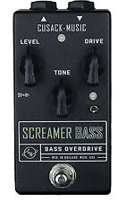 Cusack Screamer Bass-Bass Overdrive Effects FX/Pedal De Efectos De Guitarra