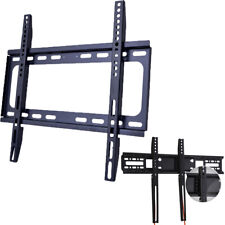 "Fixed TV Wall Mount Bracket For 26 32 37 42 46 50 52 55 57 60 65"" LED LCD PLASMA"