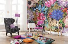 368x254cm Mural De Pared Foto Wallpaper Abstracto Flores Motif-composición Decoración