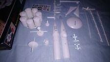 Glencoe  space retriever rocket model kit complete, part built