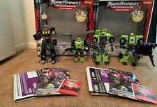Transformers Universe Decepticon Constructicon Devastator RiD Landfill recolor