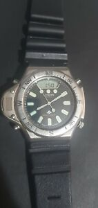 Citizen promaster Aqualand Aerochron co46.Citizen ana digi vintage divers Watch