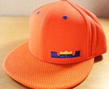 NIKE LEBRON JAMES 12 XII True Snapback Hat / Cap 658005 Meridan Orange