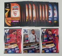 2020 Match Attax 101 - Lot of 20 Soccer Cards inc Messi, Salah, Mbappe