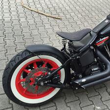 Gebördelter Stahlfender Bobberfender 145 MM breit für Harley Davidson Custombike