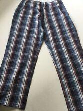 Knielange Damen-Pyjamahosen aus Baumwolle für die Freizeit