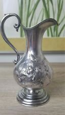 "TIFT & WHITING COIN SILVER EWER ""INSANE ASYLUM TO A.C GIBBS GOV. PORT,OR 1862"