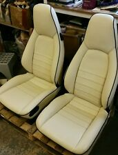 PORSCHE 944 LEATHER FRONT SEAT COVERS