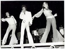 2 photos - Joe Dassin - Tirages argentiques d'époque 1970 -