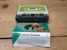 STEVIE WONDER - THE BEST OF - MOTOWN - 5C 236 91056 ! RARE!! TAPE / K7