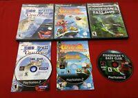 Playstation 2 PS2 Lot Cocoto Fishing Master PRO Bass Challenge BASS CLUB BUNDLE