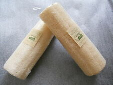 "Lot * 2x 8"" Natural Loofah Luffa Loofa Sponge Bath Shower Spa and Body Scrubber"