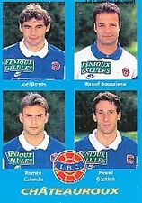 N°364 BOSSIS # BOUZAIENE CHATEAUROUX VIGNETTE PANINI FOOTBALL 96 STICKER 1996
