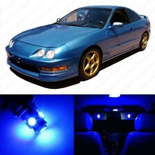 6 x Ultra Blue LED Interior Lights Package For 1996 - 2001 Acura Integra