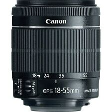 New Canon EF-S 18-55mm 18-55 f/3.5-5.6 IS STM Lens WHITE BOX