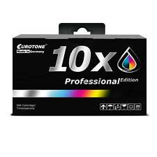10x Eurotone PRO Patrone XL für Epson Stylus SX-235-W SX-420-W SX-440-W