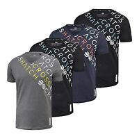Mens T-Shirt Crosshatch V Neck Short Sleeve Summer Botein T-Shirt Graphic Casual