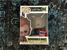 Funko Pop! The Simpsons WereWolf Bart #1034 NYCC 2020 Shared Exclusive Free Ship