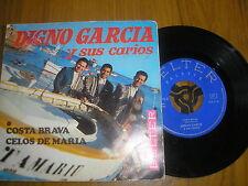 DIGNO GARCIA Y SUS CARIOS-COSTA BRAVA/CELOS DE MARIA SPANISH BELTER 07-416