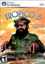 Tropico 3 COMPUTER PC DVD Windows video game NIB