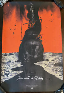 There Will Be Blood Movie Poster Joao Ruas Mondo Con 2019 Art Print Skull 💀
