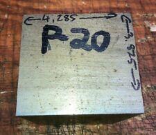 P20 Steel Bar Stock Mold Tool Die Shop Flat Bar 428 X 3875 X625 29lb Block