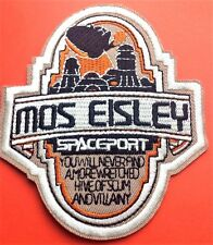 "Star Wars Mos Eisley Celebration Embroidered 4.5"" Patch Iron On Free P & P"