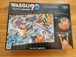 COMPLETE   2017 Wasgij Jigsaw Puzzle 1000 Pieces A Perrfect Escape 09891